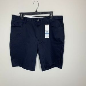 NWT Calvin Klein Mens Size Navy Blue Flat Front